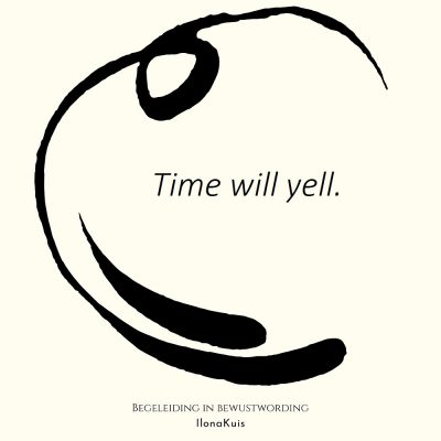54. Bibw quote - time will yell