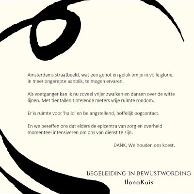 61. Bibw quote - Amsterdams straatbeeld