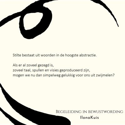 64. Bibw quote - stilte abstractie woorden
