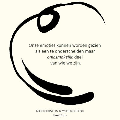 72. Bibw quote - emoties onlosmakelijk