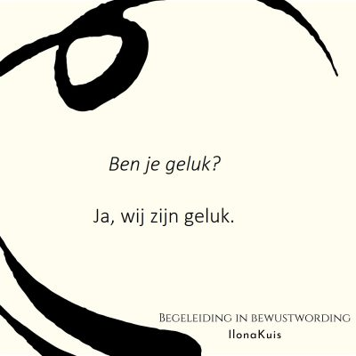 8. Bibw quote - geluk