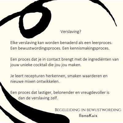 92. Bibw quote - Verslaving als leerproces